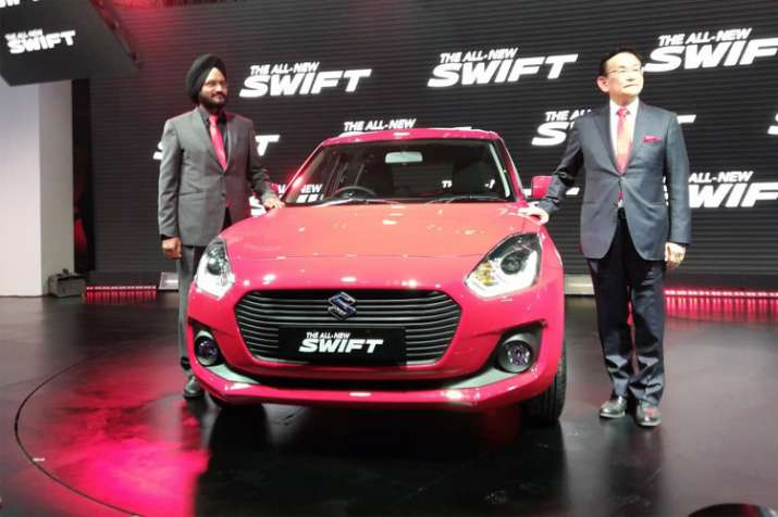 Maruti Suzuki launches new Swift at the Auto Expo 2018
