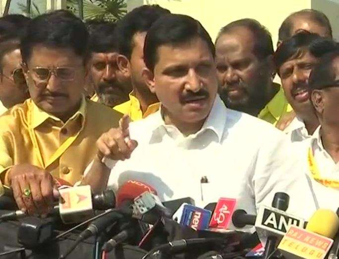 Andhra Minister and senior TDP leader YS Chowdary after