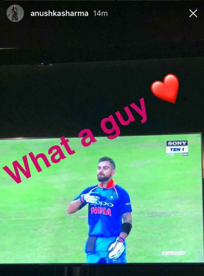 India Tv - Anushka Instagram stories