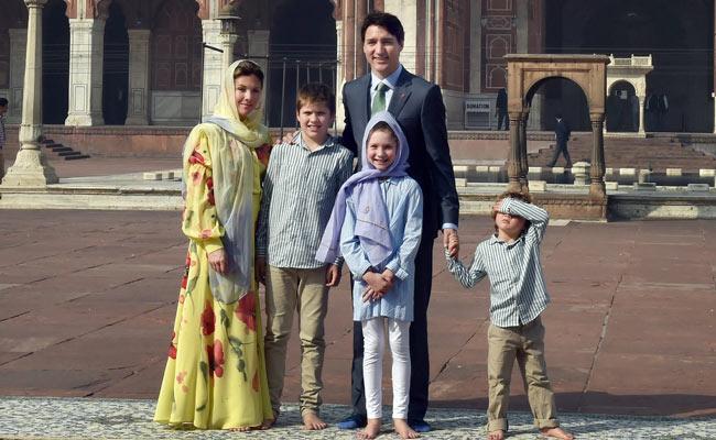 Canadian Prime Minister Justin Trudeau visited Jama Masjid