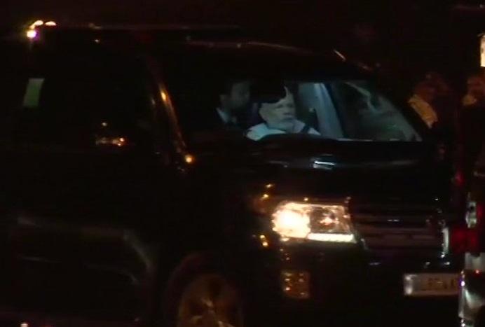 PM Modi visits Goa CM Manohar Parrikar in Mumbai-based