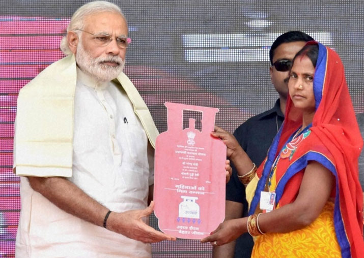 File pic - PM Modi asks Ujjwala Yojana beneficiaries to