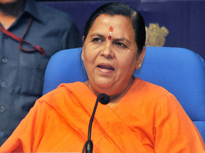Uma Bharti not to contest elections for next 3 years, plans