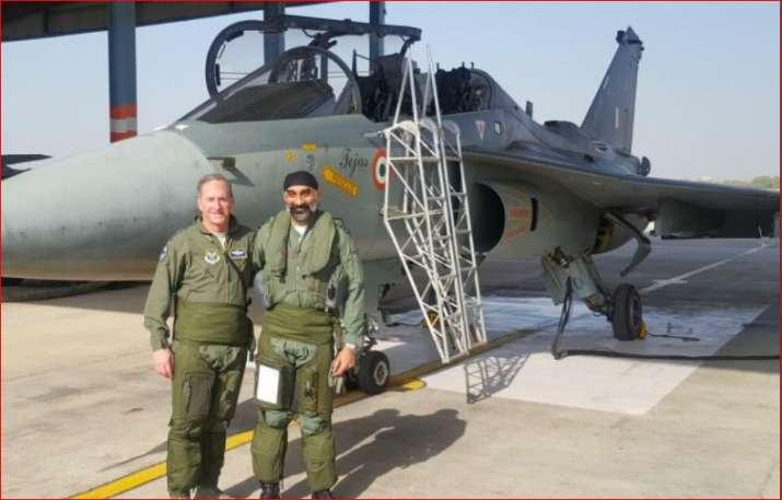 US Air Force Chief flies LCA Tejas in Jodhpur | India News