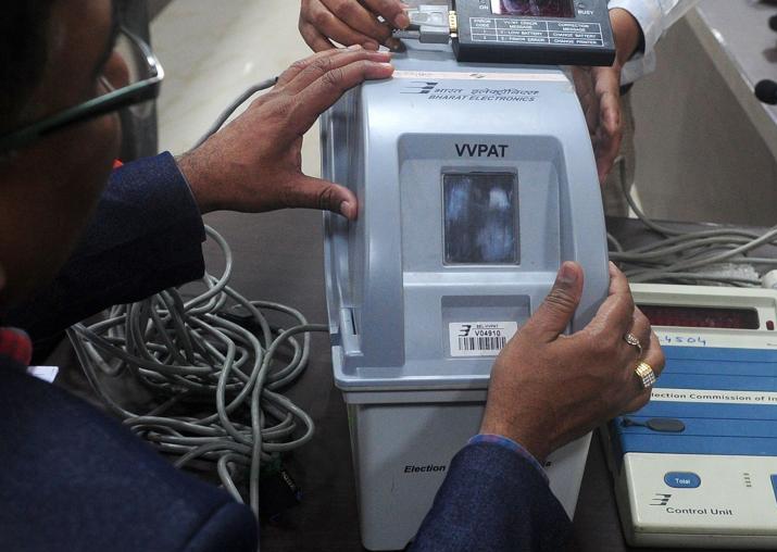 VVPAT machines for Meghalaya Assembly election arrives