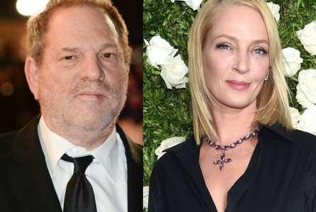 Uma Thurmano on sexual abuse by Harvey Weinstein