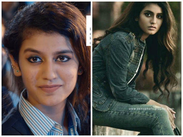Priya Prakash Varrier reacts to Manikya Malaraya Poovi's