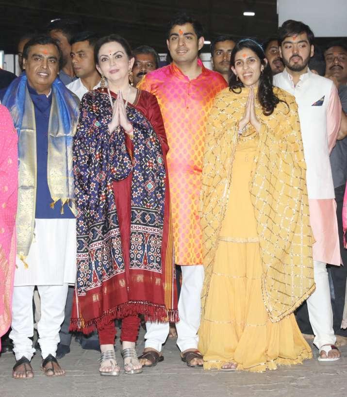India Tv - The Ambani family