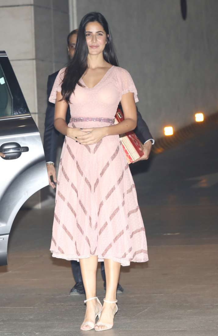 India Tv - Katrina Kaif at Akash Ambani and Shloka Mehta's party