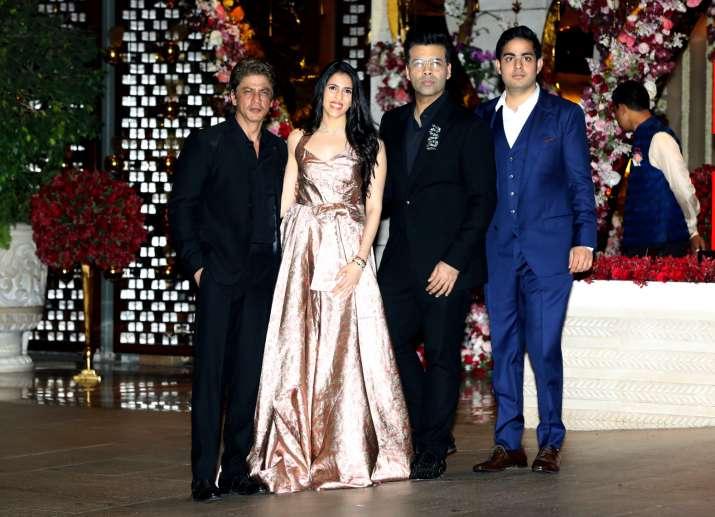 India Tv - Celebs at Akash Ambani and Shloka Mehta's party
