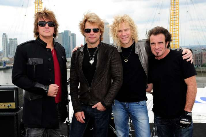 Here's how legendary rock band Bon Jovi celebrated their