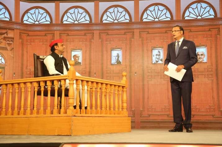 India TV Samvaad on Yogi Govt's one year: Akhilesh Yadav