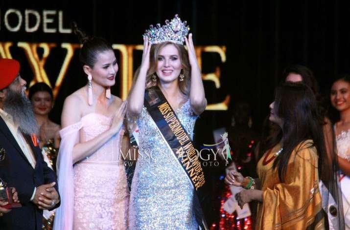 Aleksandra Liashkova from Belarus wins Miss Supermodel