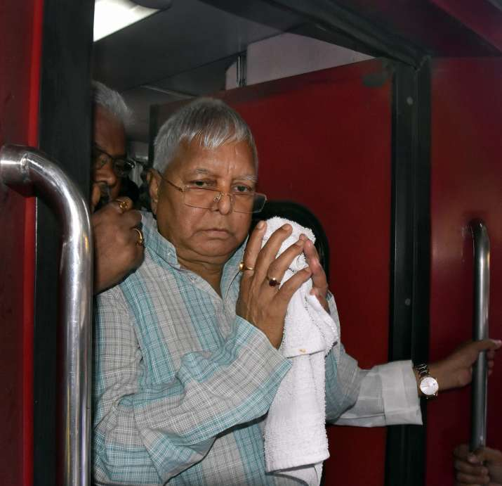 Former Bihar CM and RJD chief Lalu Yadav (File Photo)