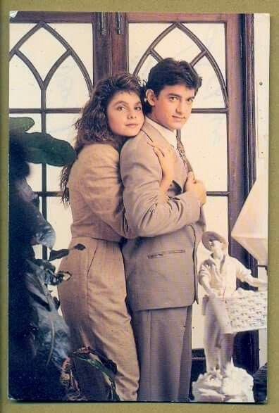 India Tv - Dil Hai Ki Maanta Nahin stars Aamir Khan poses with Pooja Bhatt for a photoshoot.