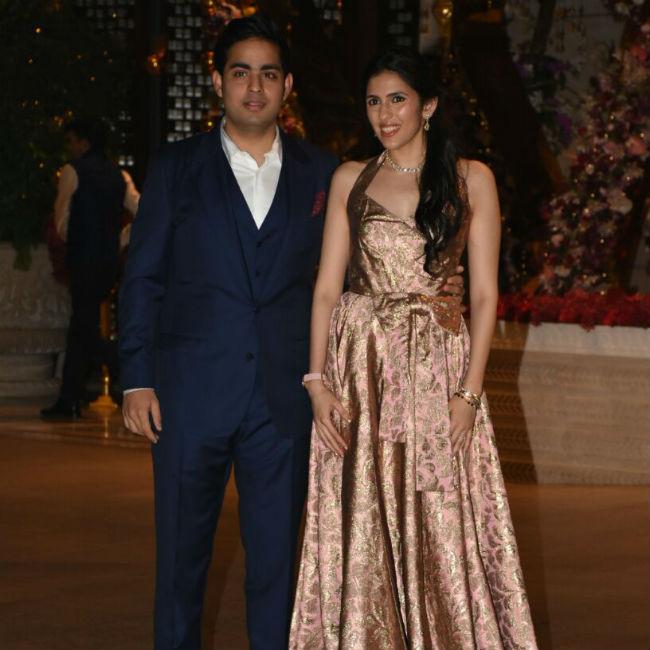 India Tv - Akash Ambani and Shloka Mehta