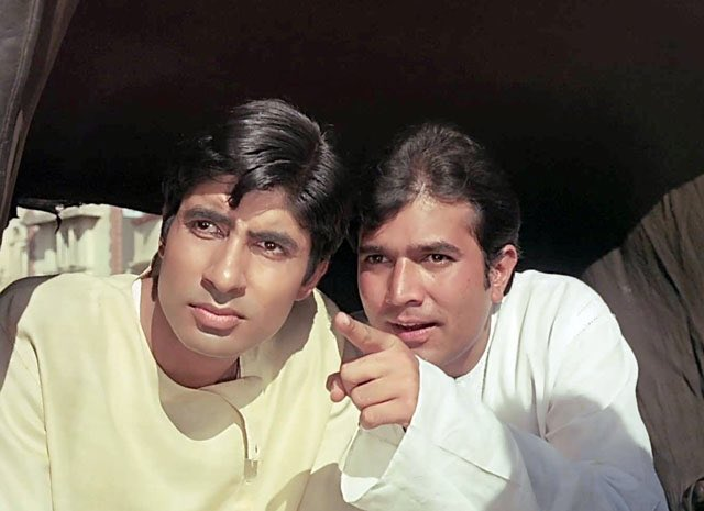 Image result for rajesh khanna and amitabh bachchan