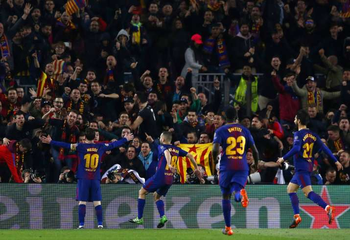 India Tv - FC Barcelona enter the quarters for the 11th consecutive time