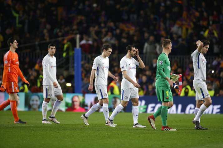 India Tv - Chelsea were outclassed by the hosts at Camp Nou.