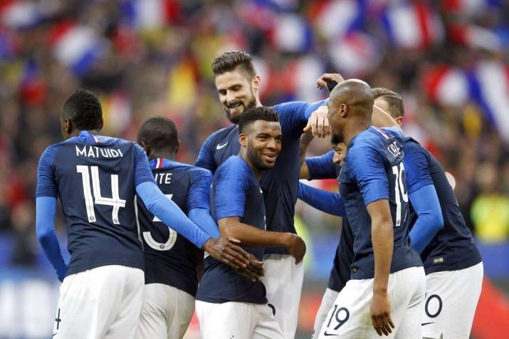 India Tv - The French attack performed well as Lemar and Giroud scored.