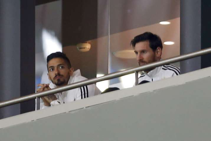 India Tv - Lionel Messi was dropped by the Argentine coach due to groin injury.