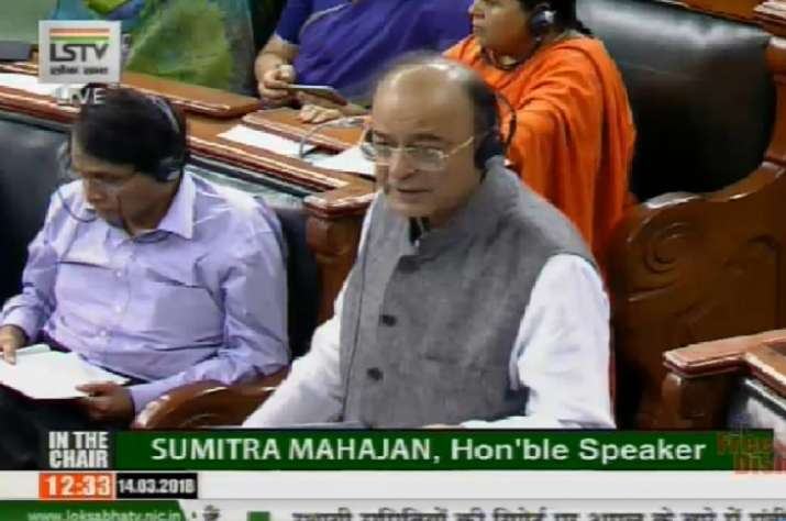 Budget Session: Amid din, Lok Sabha passes Finance Bill 2018 without debate