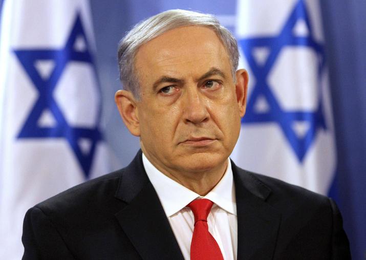 File pic of Benjamin Netanyahu