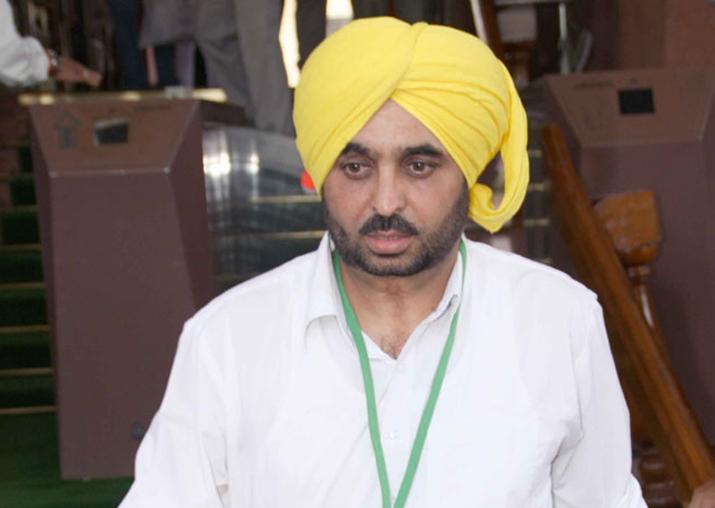 AAP's Punjab unit president and MP Bhagwant Mann resigns