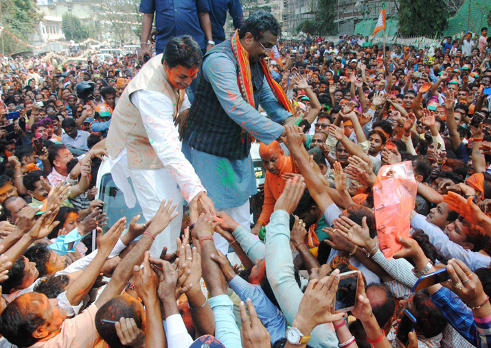 BJP National General Secretary Ram Madhav and Tripura BJP
