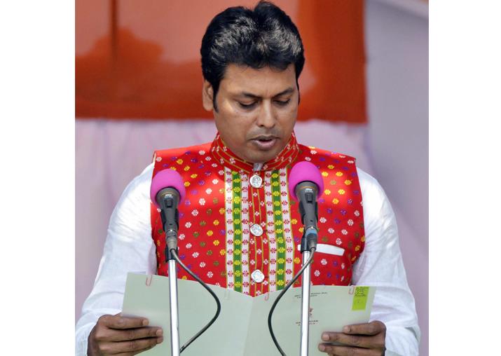 Biplab Kumar Deb -- From RSS member to Tripura Chief
