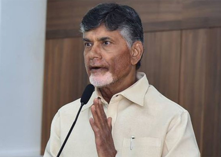 File pic of Andhra Pradesh Chief Minister Chandrababu Naidu
