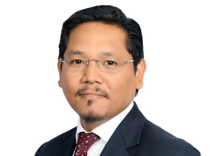 National People's Party (NPP) chief Conrad Sangma