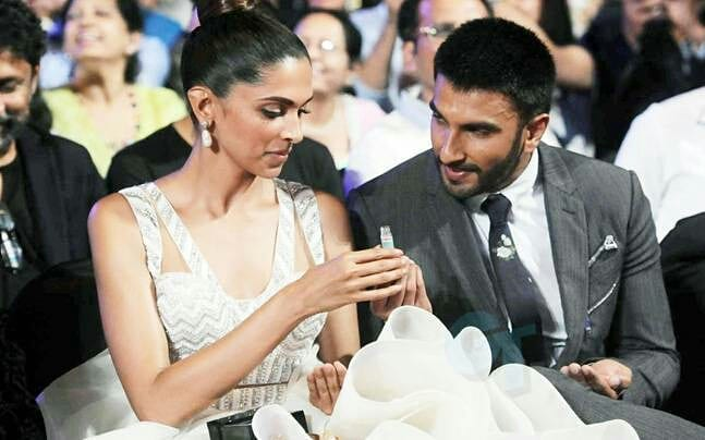 Image result for Ranveer Singh and Deepika Padukone latest