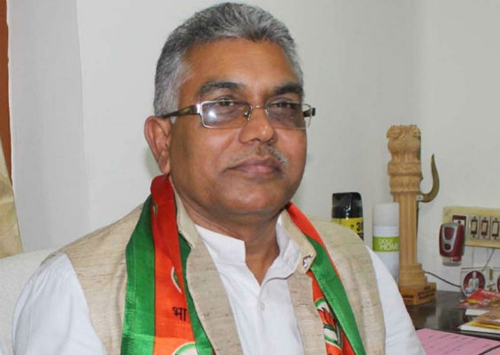 File pic of WB BJP president Dilip Ghosh