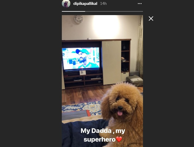 India Tv - Dipika Pallikal's Instagram post