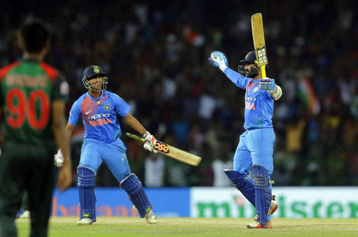 Nidahas Trophy Final - Dinesh Karthik leads India to win vs Bangladesh