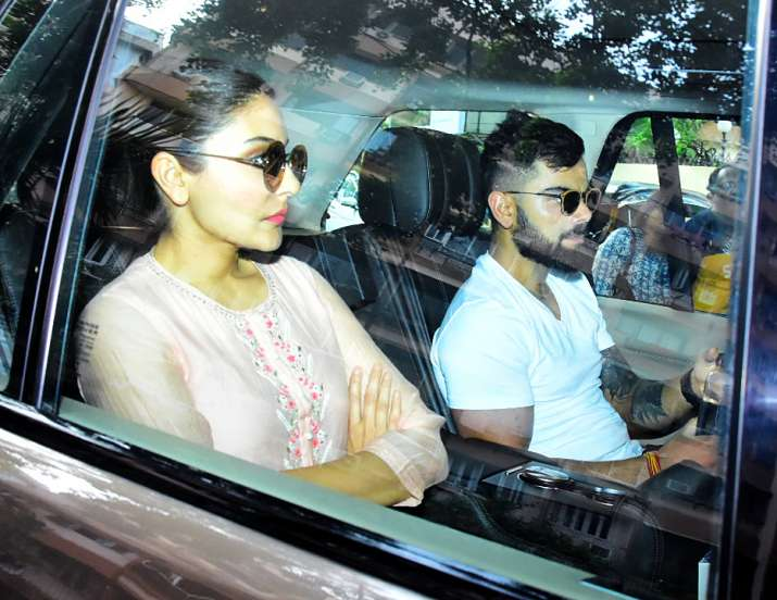 India Tv - Virat and Anushka