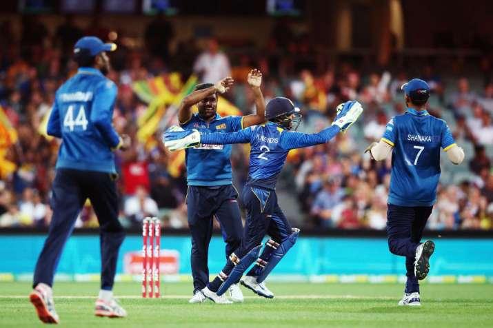 India Tv - A file image of the Sri Lanka team