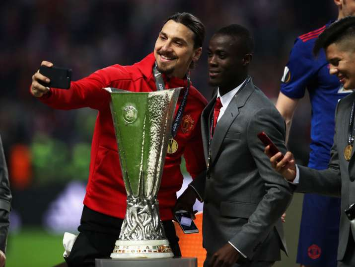India Tv - Zlatan won the FA Cup, Europa Cup and EFL Cup with United