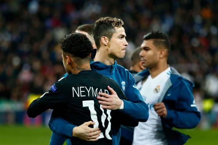 India Tv - Real Madrid knocked out PSG in the round of 16