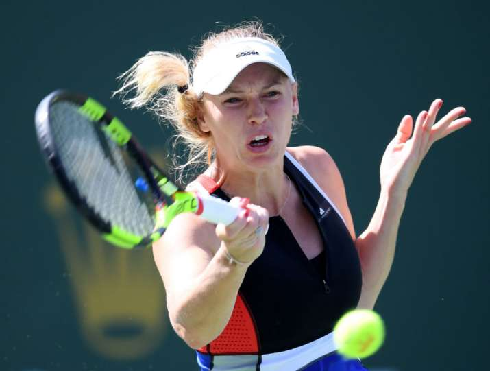 India Tv - Caroline Wozniacki once again upset this year.