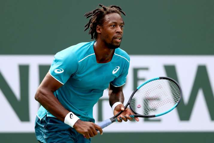 India Tv - A file image of Gael Monfils.