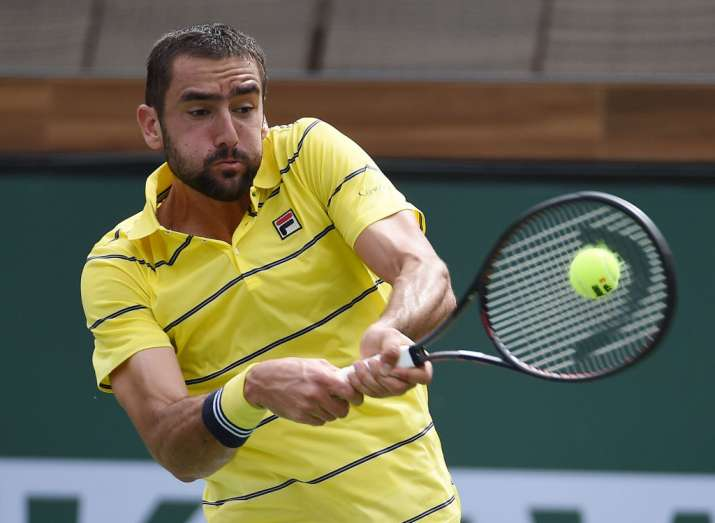 India Tv - Marin Cilic crashes out early