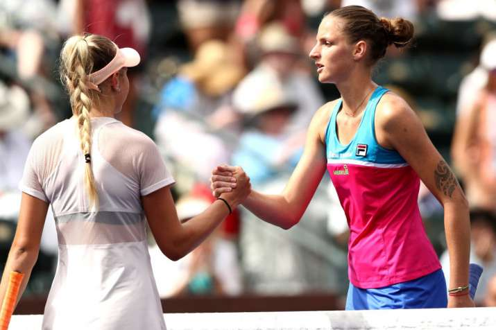 India Tv - Karoline Pliskova wishes Amanda Anisimova