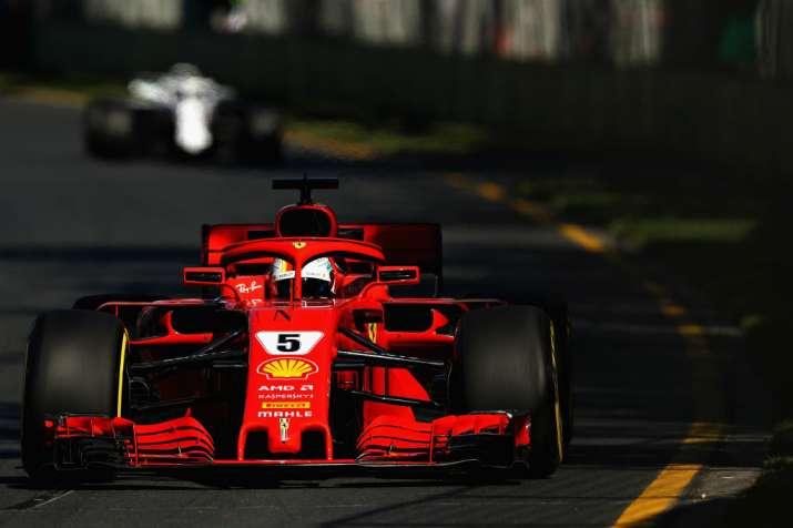 Sebastian Vettel fastest in rainy final practice at ...