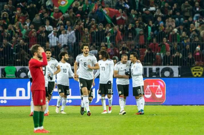 India Tv - Salah opened the scoring for Egypt.