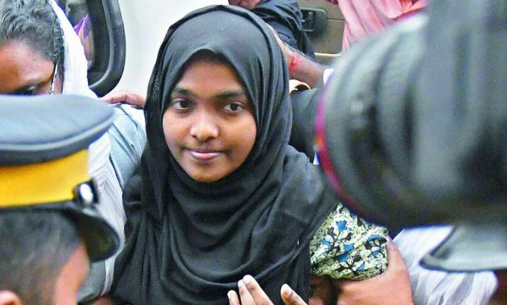 Hadiya, 24, earlier Akhila Ashokan, embraced Islam and