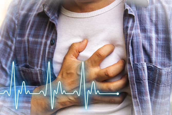 Heart attacks at weekends more likely to kill young men