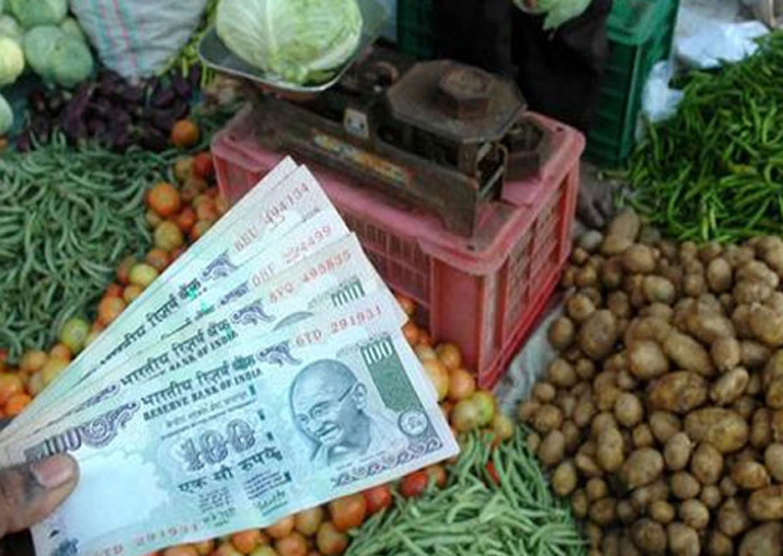 Representational pic - Retail inflation dips to 4.44% in