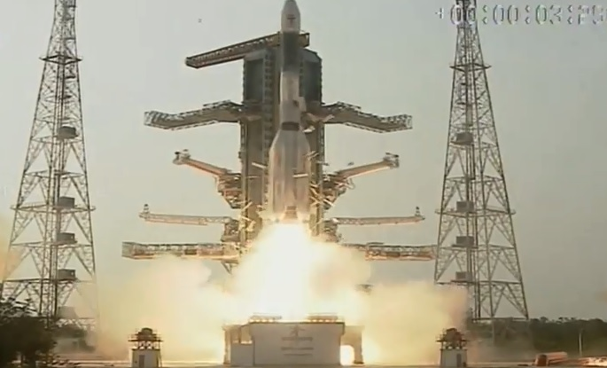 ISRO successfully launches GSAT-6A strategic communication